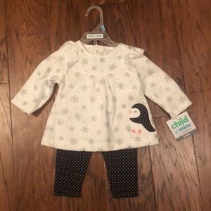 NWT 3-6 months girls outfit